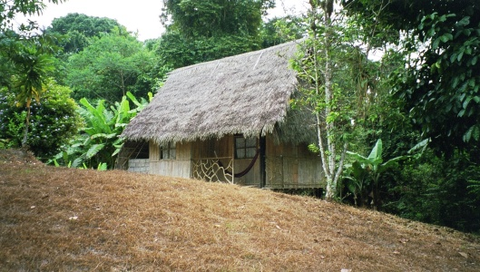 Vår hydda vid Yaturi lodge
