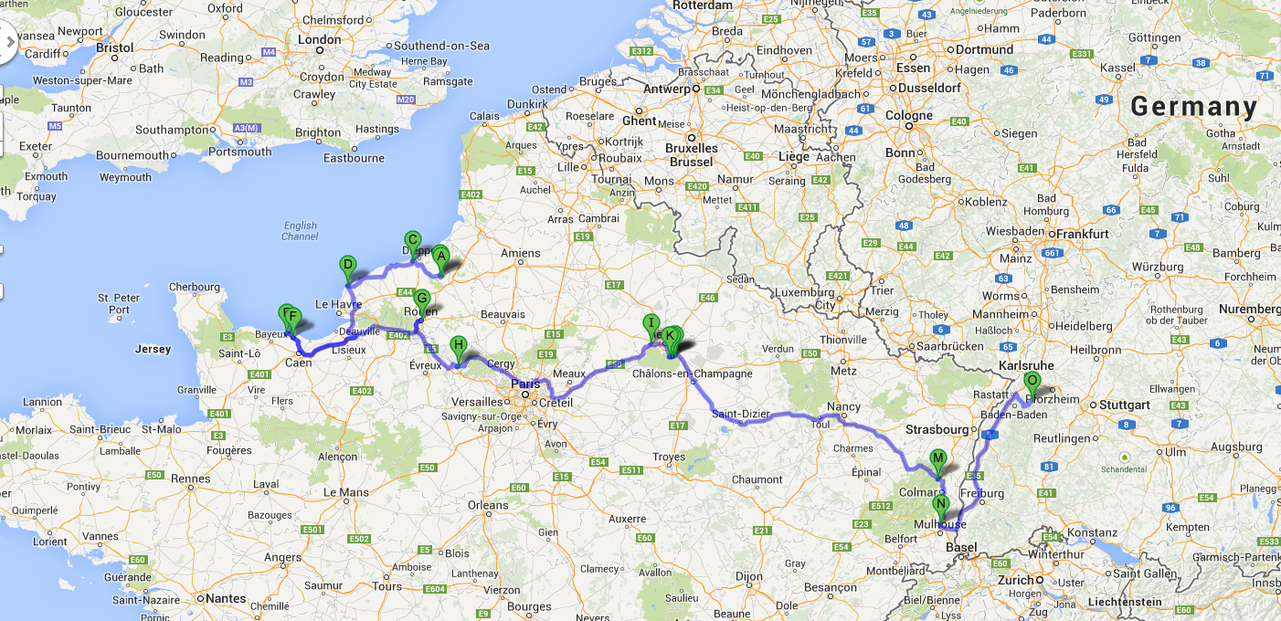 karta frankrike champagne Tre drycker i Frankrike – Calvados, Champagne och Alsace vin  karta frankrike champagne