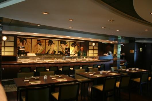 japansk sushirestaurang