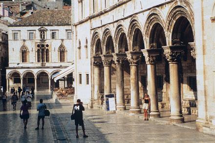 Foto: Rektorspalatset, från Dubrovnik Tourist Board