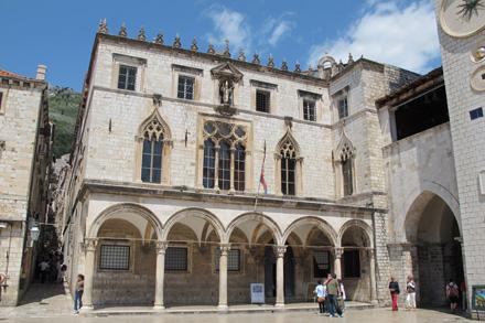 Foto: Sponzapalatset, från Dubrovnik Tourist board